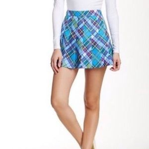NWT American Apparel Courtney Plaid Skirt